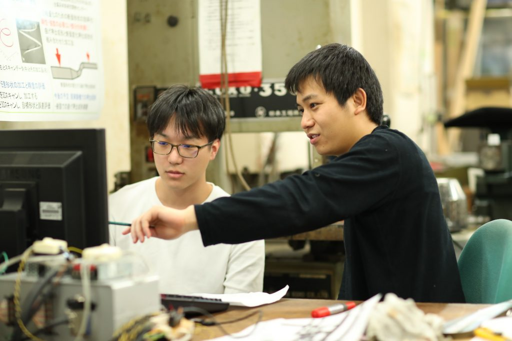 ある日の武田・菅原研究室 3