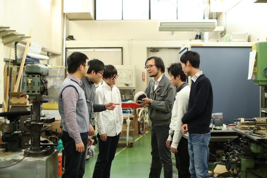 ある日の武田・菅原研究室 4